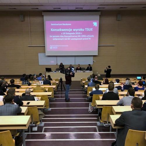 Konsekwencje wyroku TSUE z 19.11.2019 - Seminarium Naukowe
