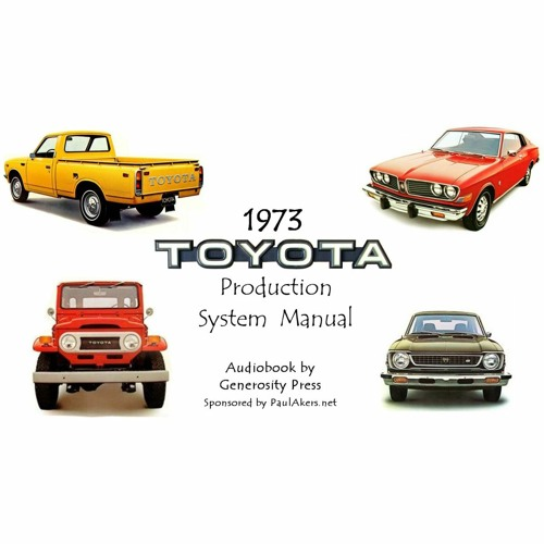 1973 - Toyota Production System - Handbook