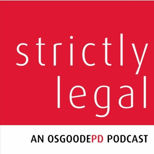 Strictly Legal - Episode 12: Jinyan Li discusses the Tax Law LLM