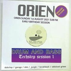 Orien - 01 Aug 2021