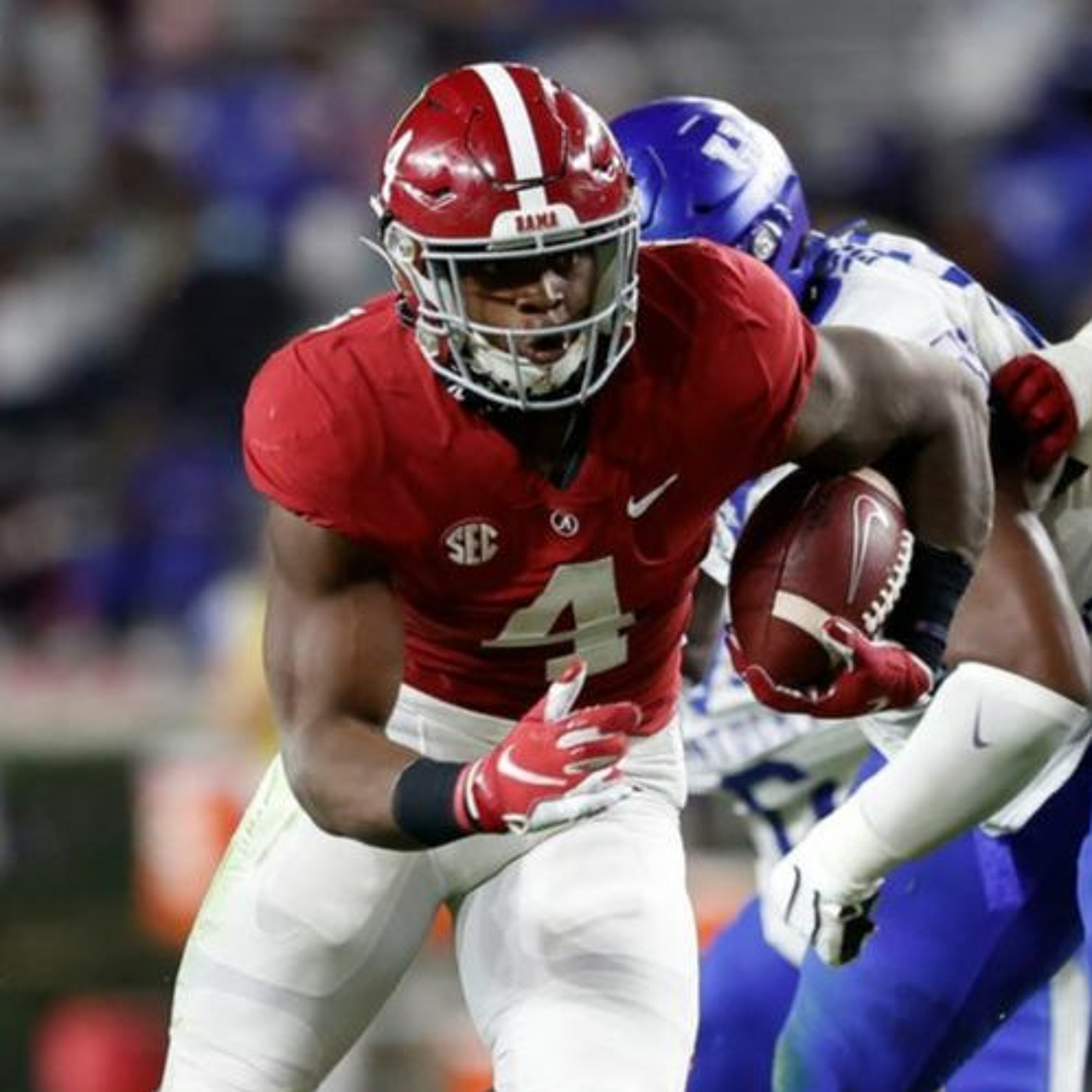 Is Brian Robinson a top back in CFB? Jalen Hurts & Devonta Smith, is John Metchie a 1st-round WR?