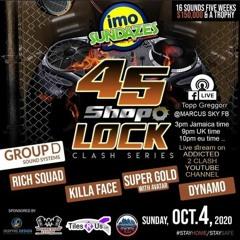 KILLAFACE VS SUPER GOLD VS DYNAMO 10/4/20 ST ELIZABETH 45 SHOP LOCK