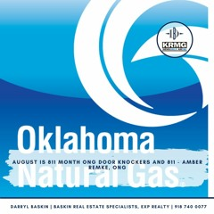 AUGUST is 811 month ONG Door Knockers and 811  - Amber Remke, ONG