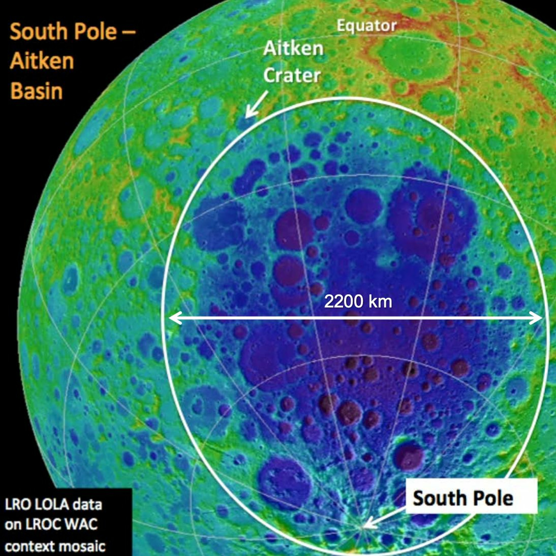 Sampling the Moon's South Pole