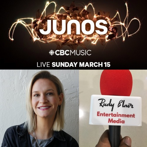 Interview w Jess Huddleston on CBC Music 49th Annual Juno Award Experience