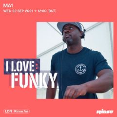 I Love: Funky - MA1 (Exclusive Mix) - 22 September 2021