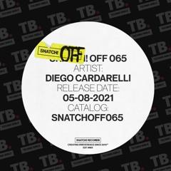 TB Premiere: Diego Cardarelli - Black Gun [Snatch! Records]