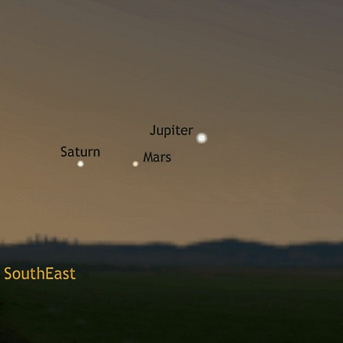 3/16/20 - A Trio of Morning Planets