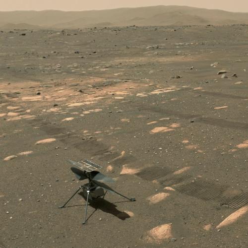 Listen to NASA's Ingenuity Mars Helicopter in Flight