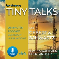 Turtlezone Tiny Talks - Ewiges Wachstum oder Fantasie?