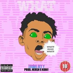 WHAT freestyle (Prod. HER$H X Kobi!)