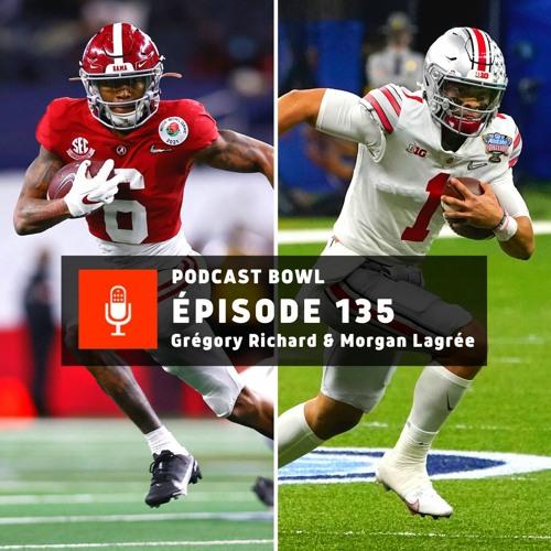 Podcast Bowl – Episode 135 : Preview du National Championship Game 2021