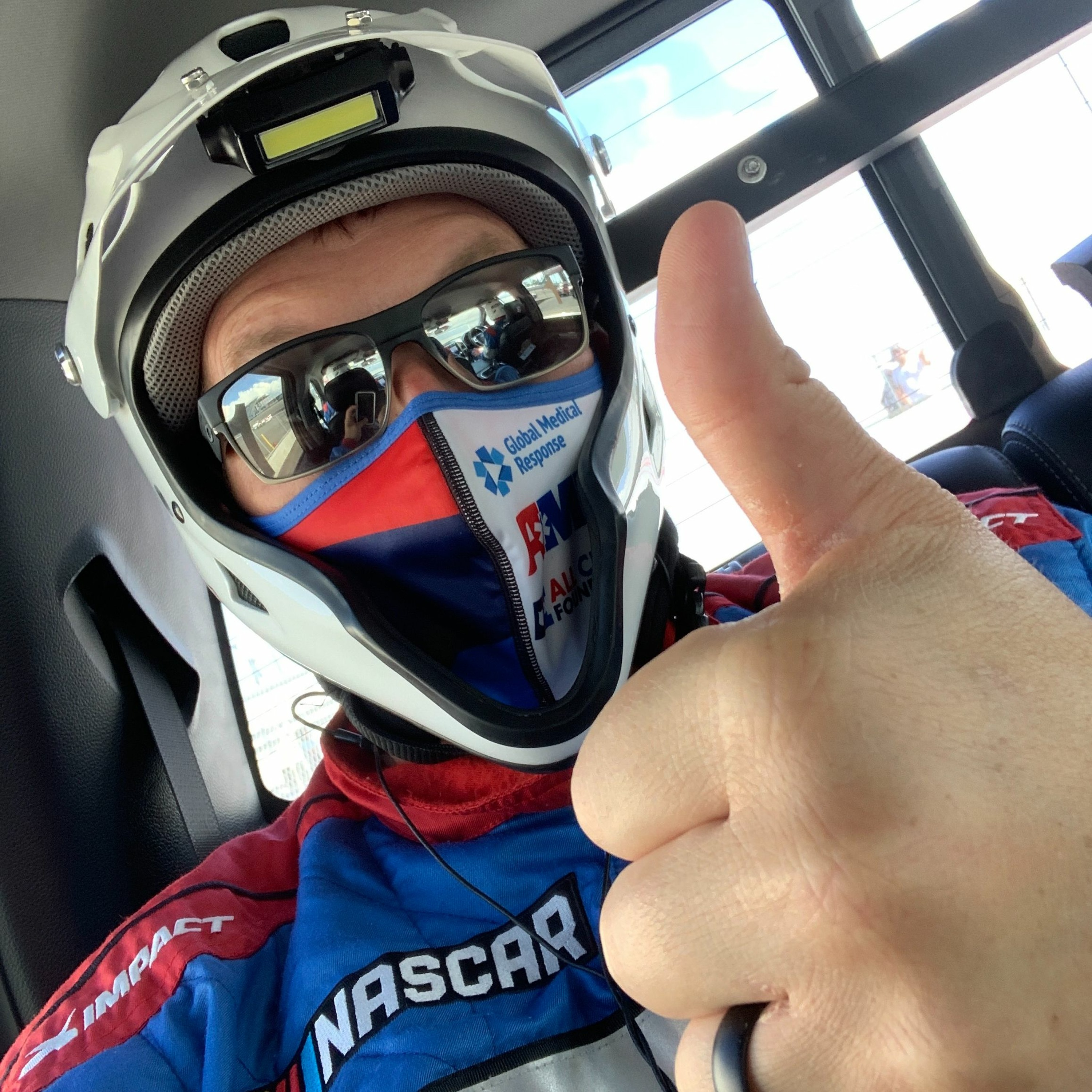 Return to Racing - Professional Sports and COVID - An ACEP20 and NASCAR Special