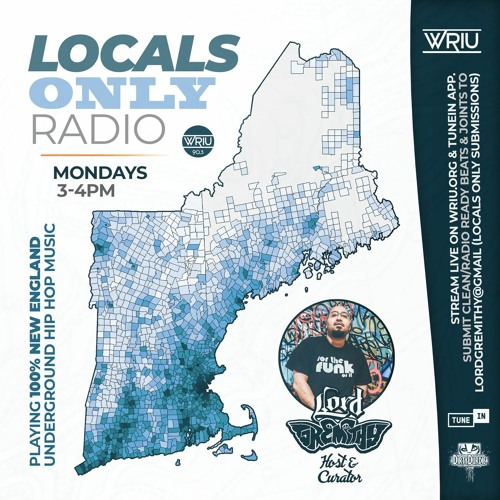 LOCALS ONLY SEGMENTS (on Real Rap Radio 90.3fm WRIU - Mon. 3-6pm)