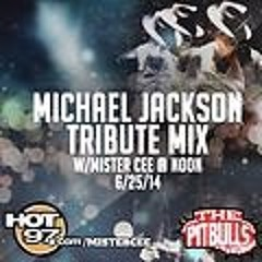 MISTER CEE @ NOON MICHAEL JACKSON TRIBUTE MIX 6/25/14 HOT 97 NYC