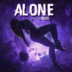 ANZEA MUSIC - ALONE  OFFICIAL AUDIO TRACK