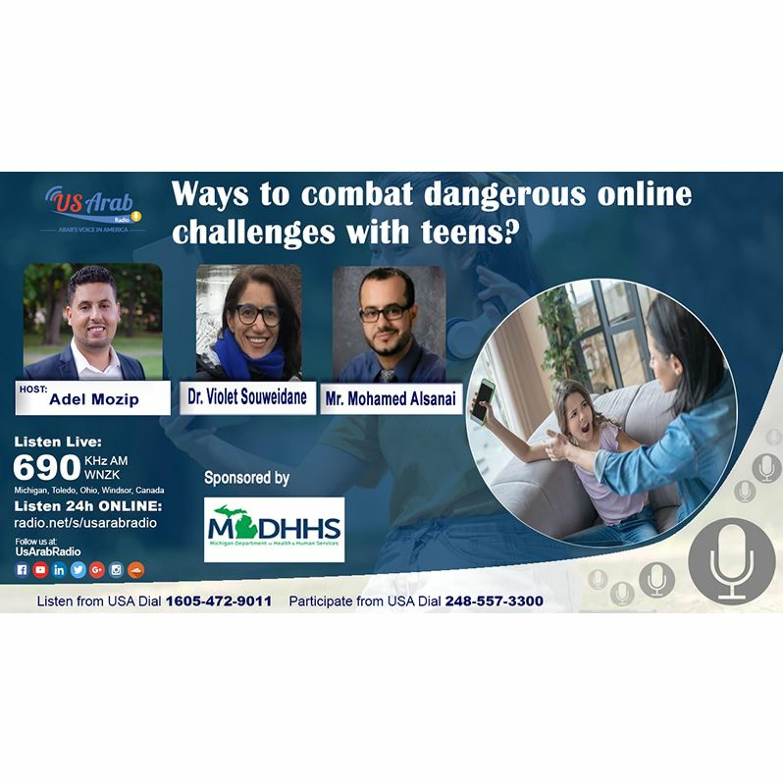 Ways to combat dangerous online challenges with teens?