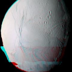 Orbit Over Enceladus