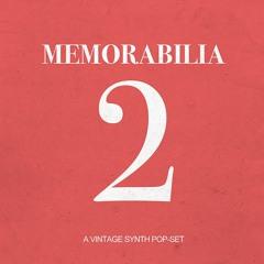 """""""MEMORABILIA 2"""" A Vintage Synth-Pop-Set"""