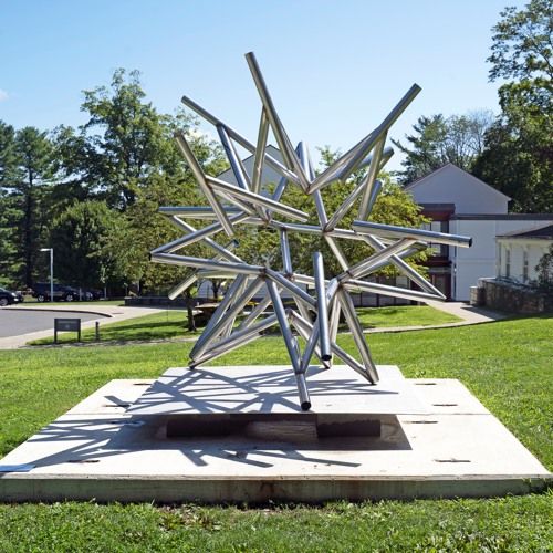 Frank Stella's Stars, A Survey: Front of Museum