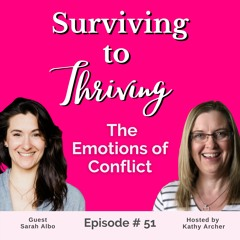 Episode #51 - The Emotions of Conflict with Conflict Resolution Expert Sarah Albo