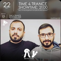Time4Trance 291 - Part 2 (Guestmix by Ash K & Junior) [Uplifting Trance]