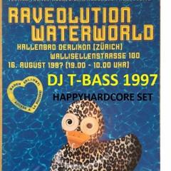 DJ T - Bass - HappyCore Set - 16 August 1997 Raveolution Waterworld Rave