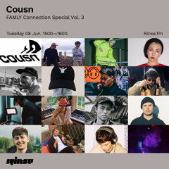 Cousn's FAMLY Connection Special Vol. 3 - 08 June 2021