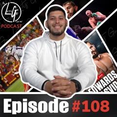 EP.108   QB MVP Performance, Tyson KOs Wilder & Dominick Reyes' Comments