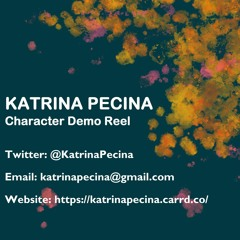Katrina Pecina Character Demo Reel