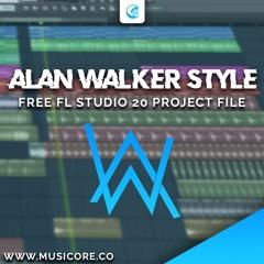 NateX - EDM Like Alan Walker FLP