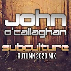 Subculture Autumn 2020 mix