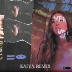 Olivia Rodrigo - Drivers License (Kaiya Remix)(Out on Chill Nation!)