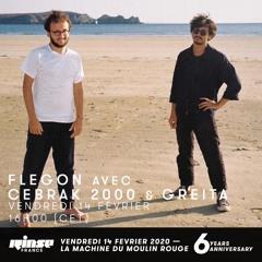 Rinse France : Flegon avec Cebrak 2000 & Greita - 14/02/20