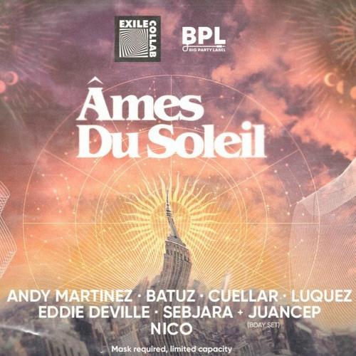 Âmes du Soleil Afterhours -  Nico live set