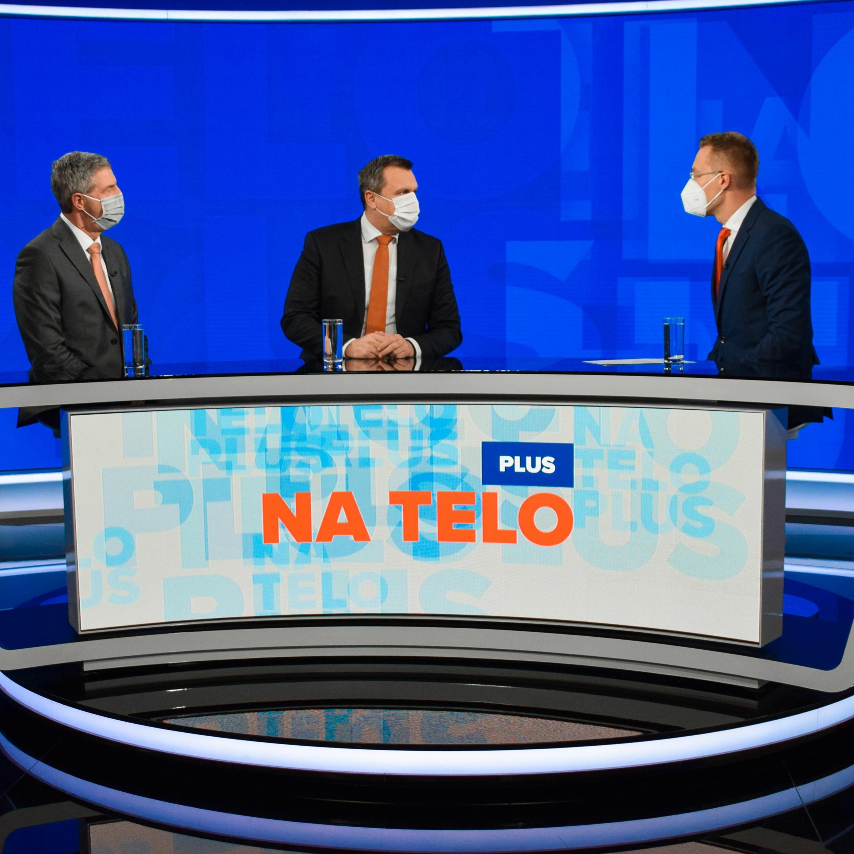 Na telo plus: Béla Bugár a Andrej Danko