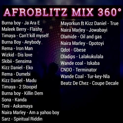 AFROBLITZ MIX 360