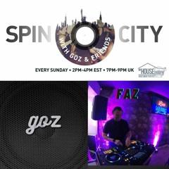 Faz & Goz - Spin City Vol 187