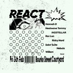 Willem DJ Set live @ React