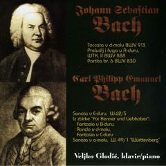 Partita br. 6 BWV 830, Sarabande