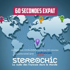 Dernier Flash 60 s Expat de la saison - 23 07 2021 - StereoChic Radio