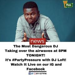 Listen Back - Dj Loft & Kojo Manuel Live 18/04/2020 #PartyPressure