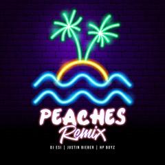 DJ Esi X HP Boyz X Justin Bieber - Peaches Vs Out Here