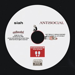 track.003 // ANTiSOCiAL [ prod. by PNK. ]