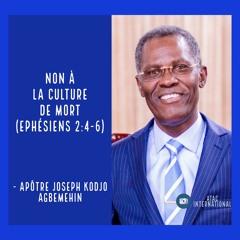 D102-4 Non à la culture de mort - Apôtre Joseph K. Agbemehin