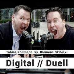 Digital // Duell (Folge 27, KW40/2021) - Die Pressedebatte für die Digitale Transformation