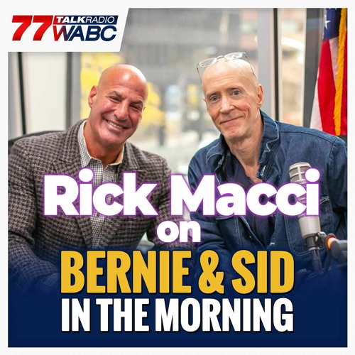 Amazing interview with Bernie & Sid in the Morning - RICK MACCI