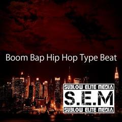 (NON FREE FOR PROFIT) 'Boom Bap Hip Hop' Type Beat (Prod. Oscar Brandow & Shaman)