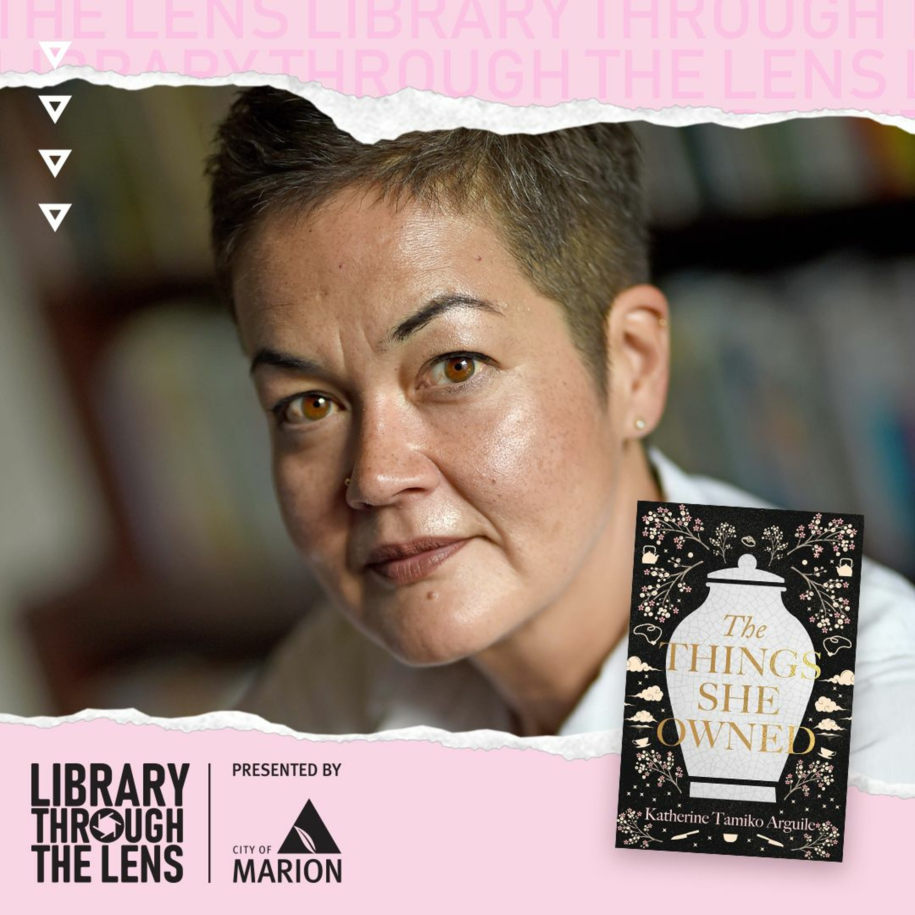 Library Through The Lens - Katherine Tamiko Arguile