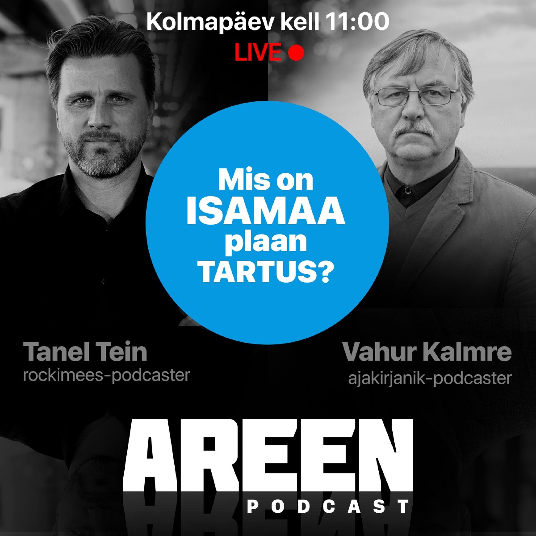 Areen podcast #20, 20. oktoober 2021 Vahur Kalmre ja valimised